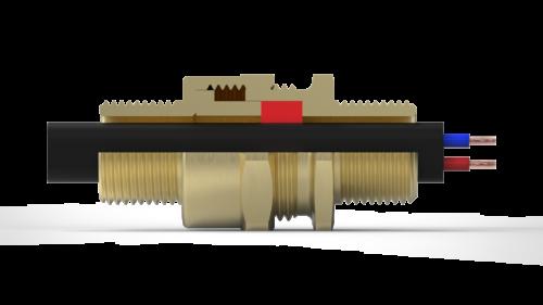 Кабельный ввод под греющий кабель