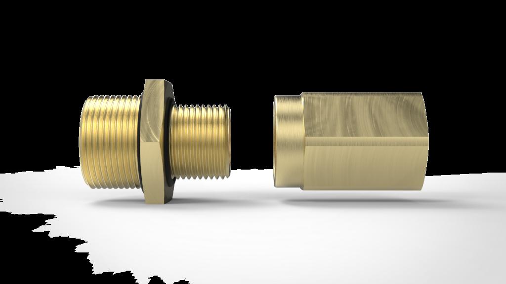 Адаптер для взрывозащищенных кабельных вводов