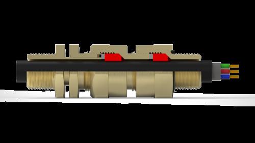кабельный ввод под трубу