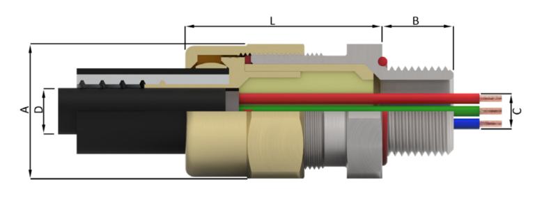 Кабельный ввод типа LT-C