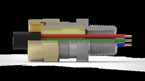 Взрывозащищённый кабельный ввод