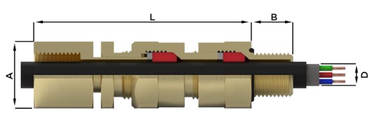 Кабельный ввод типа A*RDF