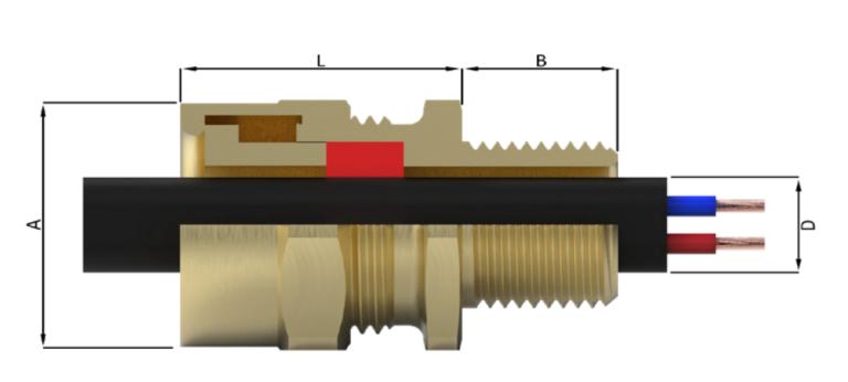 Кабельный ввод типа A8