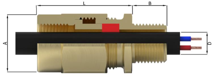 Кабельный ввод типа A8CF