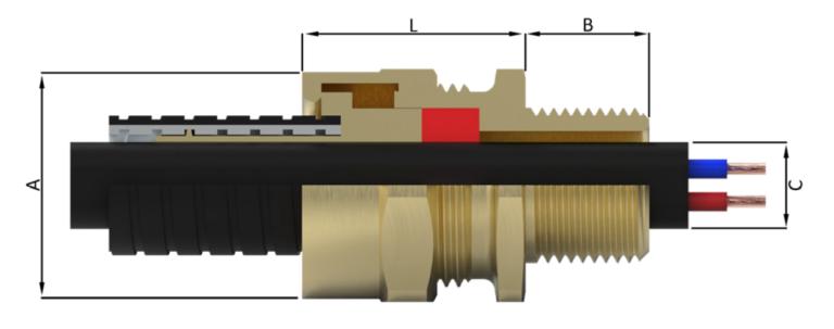Кабельный ввод типа A8RC