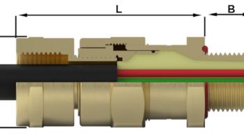 Кабельный ввод типа CR-S*F