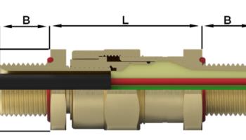 Кабельный ввод типа CR-S*M