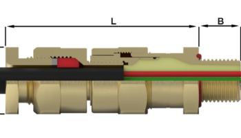 Кабельный ввод типа CR-U