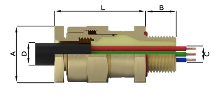 Кабельный ввод типа CR-X