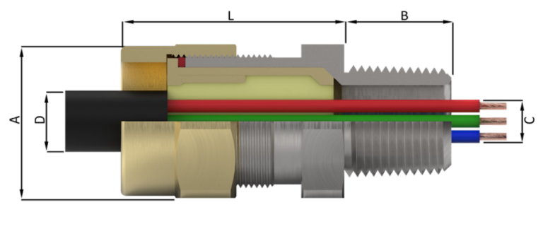 Кабельный ввод типа UL-X
